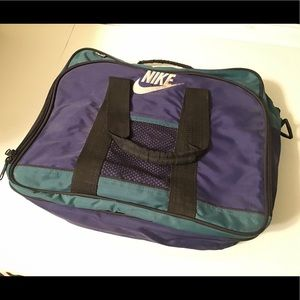 Vintage Nike Briefcase School Bag